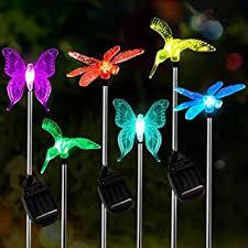 Solar Garden Butterfly Lights - Amazon.ca
