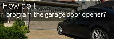 how to reset garage door openerHow do I program my 2015 Hyundai Genesis universal garage door