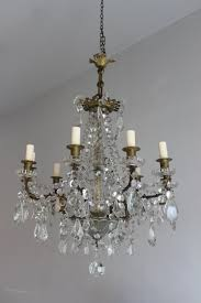Antique French Light Fixtures Antiques Atlas Cut Glass French Antique Chandelier
