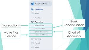 Wave Chart Of Accounts Introduction To Wave Accounting For Beginners 2019