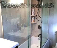 sliding frameless shower door modern sliding bathtub doors in dc prime line sliding frameless shower door