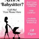 Babysitting Ads Babysitting Ads Samples 15 Babysitting Flyers 13 610a 471