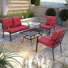 Dunrobin  Piece Deep Seating Group With Cushions  Reviews - Landscape lane outdoor furniture