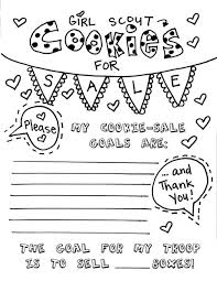 Small Picture girls scout cookie coloring pages images about girl scouts on