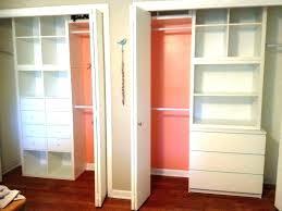 system build closet organizer custom building white melamine