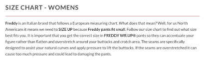 Lush Clothing Size Chart Whats Your Websites Special Ux Feature Ux Planet
