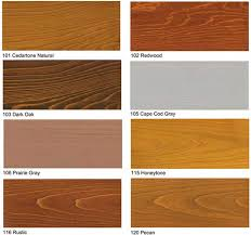 Wood Stain Samples In 2019 Outdoor Wood Stain Deck Stain