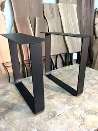 ohiowoodlands dining table base steel dining table legs dining wood metal dining table