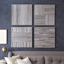 on whitewashed wood wall art with stikwood wall art west elm
