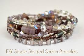 diy stretch bracelet crafts unleashed