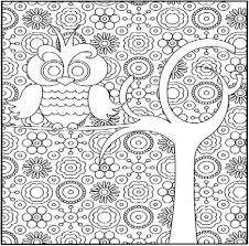 Coloring Pages Hard Patterns Free Printable Inspirational About ...