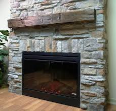 image of stone veneer fireplace cost