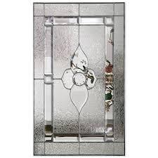 brl front door glass inserts