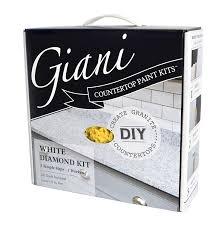 White Countertop Paint Giani Countertop Paint Kit White Diamond Amazoncom