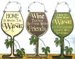 metal kitchen signs wooden wall plaques 3 wine decorative wood and vintage tin personalized kitch how metal kitchen signs