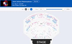 Park Mgm Theatre Seating Chart