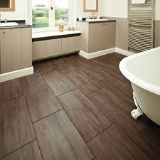 wood tile flooring ideas. Bathroom, Bathroom Wood Flooring Ideas Fluffy Towels And Cylinder Wax Bold Cream Tile Floor Reclaimed