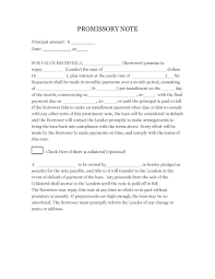 Sample Promissory Note Download Sample Promissory Note Template PDF RTF Word WikiDownload 22
