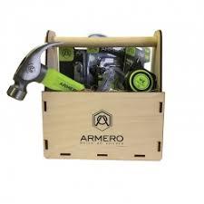 ARMERO Подарочный <b>набор инструментов</b> в деревянном <b>ящике</b> ...