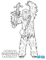 Bb8 Coloring Pages For Kids With Chewbacca Coloring Pages Hellokids