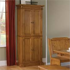Oak Kitchen Pantry Cabinet Storage Cabinets For Kitchen
