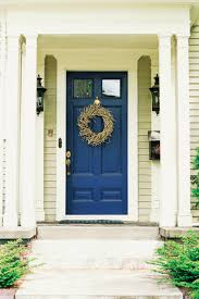 what color to paint front door13 Front door colors spotted on the internet