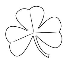 Small Picture Printable Shamrock Coloring Page TemplateShamrockPrintable