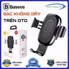 Giá đỡ kiêm đế sạc không dây oto Baseus LV117 cho xe hơi ô tô