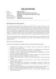 child care duties responsibilities resume sample child care resume child care job resume child care assistant