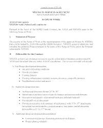 Simple Statement Of Work Template Software Statement Of Work Format Method Sow Template Fresh