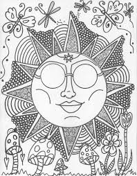 Small Picture Hippie Custom Coloring Book coloring book pages by DawnCollinsArt