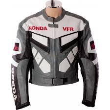 classic honda vfr motorbike motorcycle leather jacket
