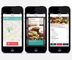 restaurant menu design app modern playful restaurant app design for a company by adi