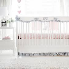 bunny baby bedding bunny hop in peach crib collection