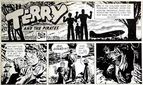 comic book lighting. One Of The Pioneers Adventure Comics Was Milton Caniff (1907-1988). Used Dramatic Blacks, Applied With A Brush, Providing An Opportunity To Sink Comic Book Lighting