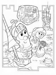 Printable Veggie Tales Coloring Pages For