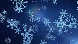 Snow Animated Snow Flakes Falling Animated Festive Stock Footage Video 100