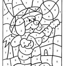 math coloring worksheets. Fine Worksheets Color By Number Math Worksheets Kindergarten U2013 Coloring On