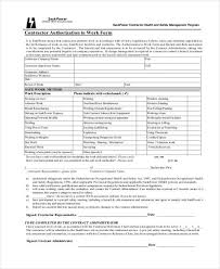 Employment Authorization Form