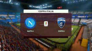 ⚽ Napoli vs Empoli ⚽  Coppa Italia (13/01/2021)