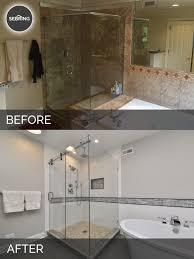 master bathroom remodel hinsdale before u0026 after sebring design build master bathroom remodels before and after75 remodels