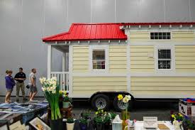 where to park a tiny house. People Tour A Tiny House At The 2018 Mid-Atlantic Home \u0026 Outdoor Living Show Where To Park