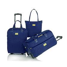 I WANT THE ALMOND!! LOVE IT!! Joy's TravelEase Quilted Lightweight ... & LOVE IT!! Joy's TravelEase Quilted Lightweight 3pc Luggage Adamdwight.com