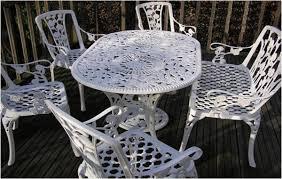 white cast iron patio furniture. Cast Aluminum Patio Furniture White Wrought Iron U