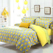 kid bedding amazing bright yellow pear pattern grey cotton teen bedding sets 5 within bright