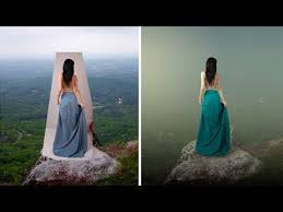 Change Background Of Pic Photoshop Tutorials Remove And Change Background Indoor To