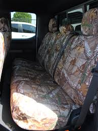 ford f150 realtree seat covers rear seats