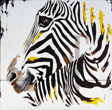 sweet sunny painting art animal horse zebra oil on canvas by duhaime animal oil painting you