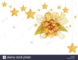 Goldene Sterne Mit Engel Christbaumschmuck Und
