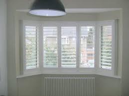 white window shutters. Exellent Shutters Bay Window Shutters Inside White